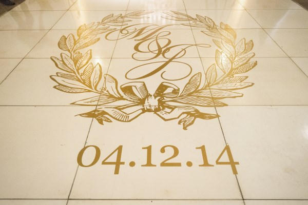 custom dance floor decals, luxury weddings, nashville weddings