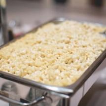 macaroni bar, wedding food ideas, southern food ideas