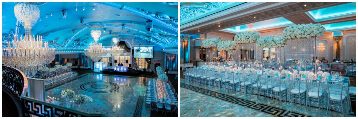 tiffany blue wedding, nashville wedding planner, NFL wedding