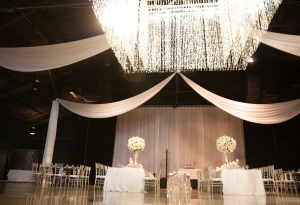 chandelier, white, mt juliet wedding planner