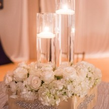 centerpieces, candles