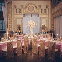 reception, large centerpiece, memphis