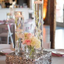 cylinder vases, reception