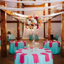centerpiece, multicolor, nashville wedding planner
