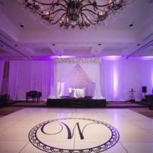 Wedding Loews Vanderbilt , Nashville Weddings, Luxury Weddings, white dance floors, decals,