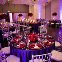 reception, nashville wedding planner, red