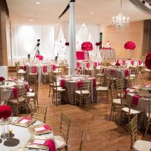red reception, nashville wedding, music school