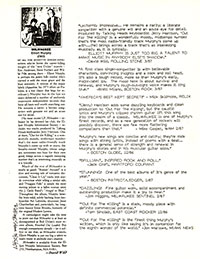 Elliott Murphy - Milwauke Reviews & Quotes