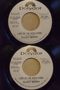 Elliott Murphy - Last Of The Rock Stars - US Promo 45