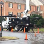 Tree Pruning with bucket truck richmond va R. L. elliott enterprises