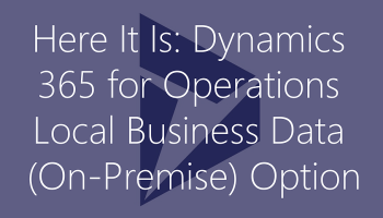 Dynamics 365 Tech(nically just Operations) Conference Recap