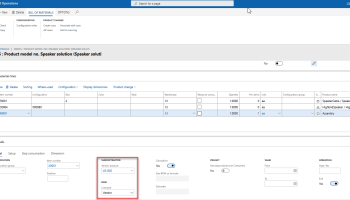 Subcontracting in Dynamics 365 for Finance and Operations