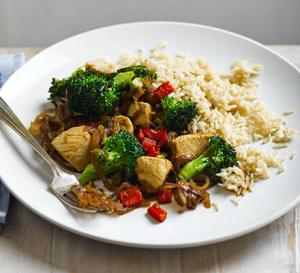 Chicken-Broccoli-And-Rice-Sometimes-I-Train