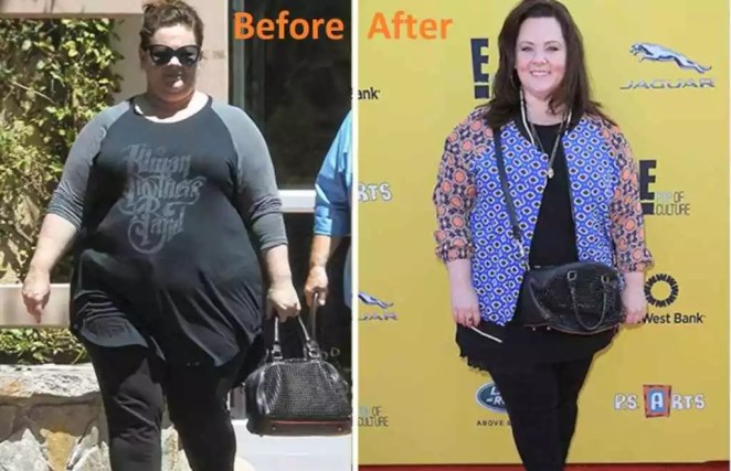 melissa mccarthy before and after weight loss