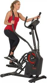 Sunny Health & Fitness Premium Cardio Climber Stepping Elliptical Machine