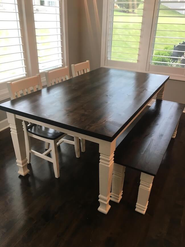 quality hill dining table