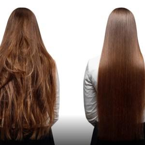 Tratament de îndreptare cu keratină păr extra-lung
