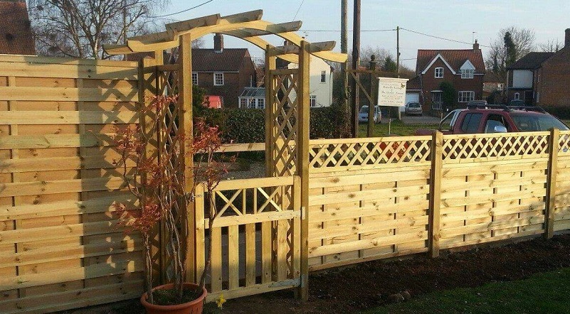 British Trellis Fencing