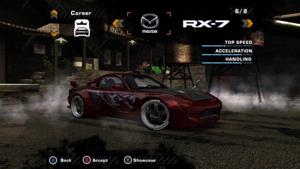 Mazda RX7 Mod for NFS: Most Wanted   The Ellis Workshop