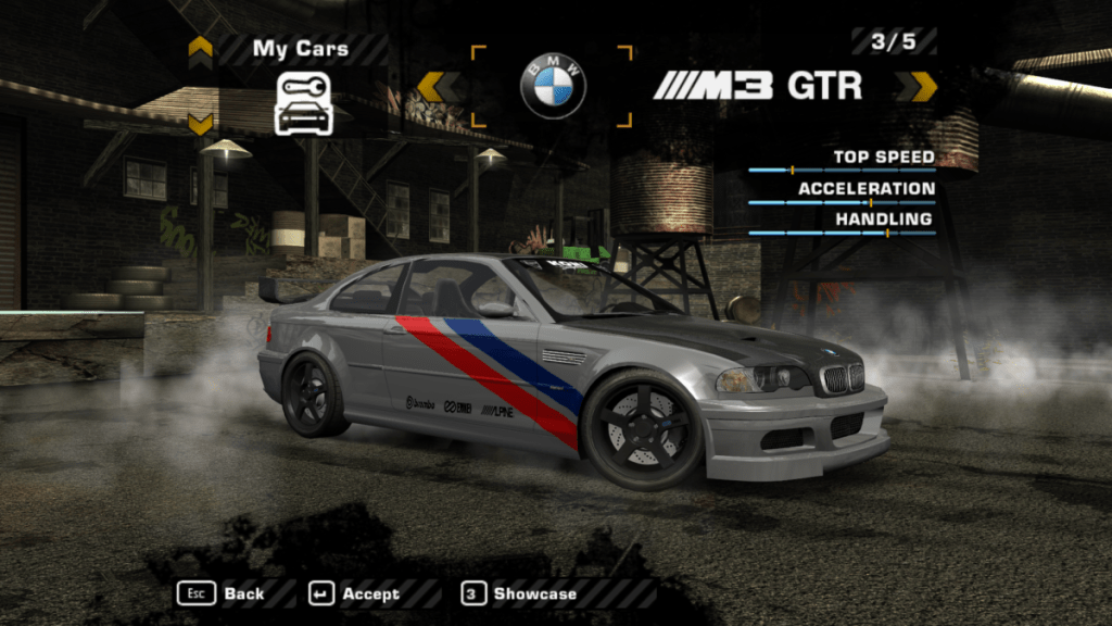 Bmw M3 Gtr Street Mod For Nfs Most Wanted The Ellis Workshop