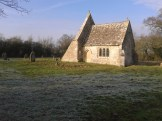 The Chancel in the frost, Jan 2015