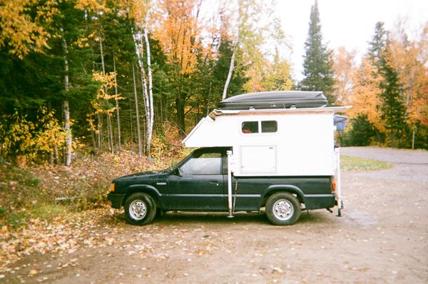 a camper van