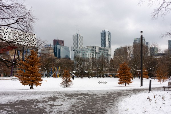Grange Park in Toronto Ontario.