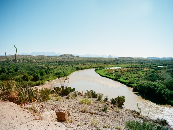 The Rio Grande River in Big Bend National Park.