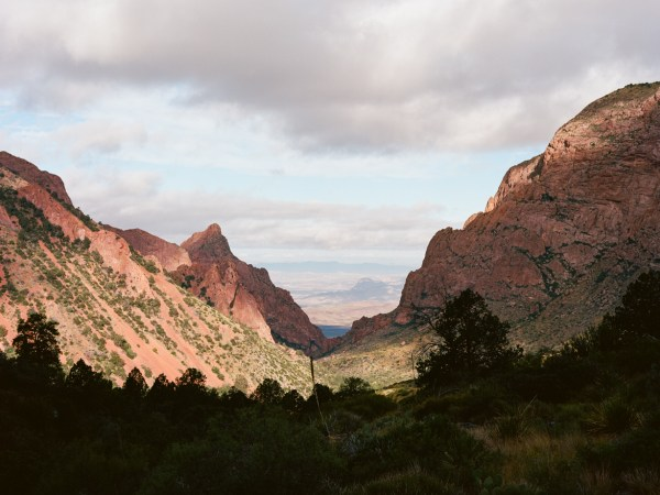 A view of the Window in Big Bend National Park.