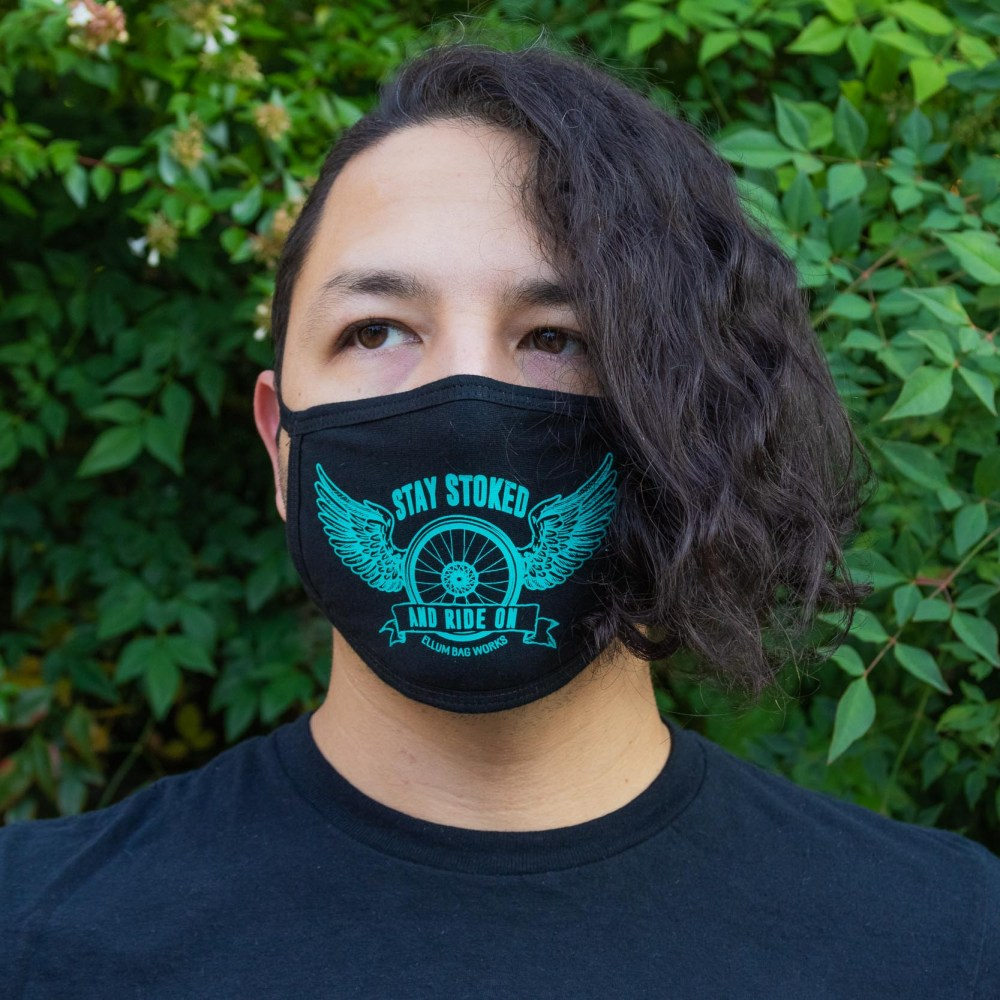 Stay Stoked Face Mask