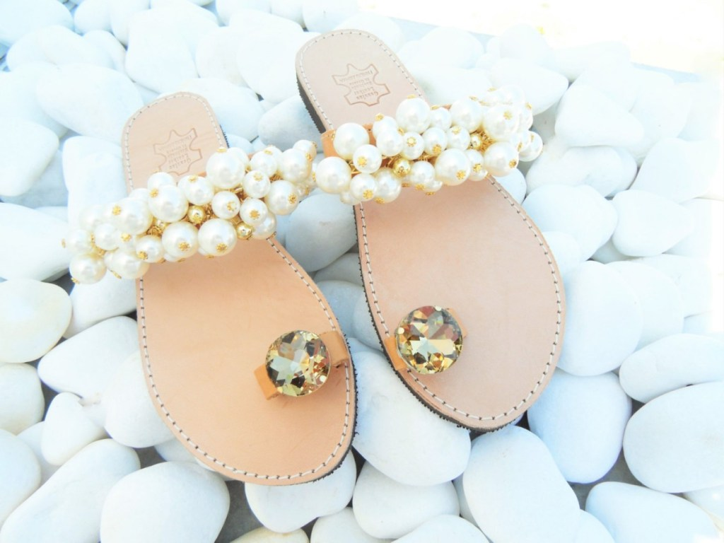 ellwed il_fullxfull.1024406237_kj0c-1024x768 24 Summer Beach Wedding Sandals from Greece that You Can Find on Etsy