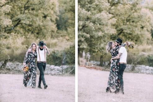 ellwed 52 Bohemian Mountain Hill Engagement Shoot in Ioannina