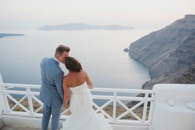 ellwed BenWyattPhotography-110 Blush and Gold Luxury Chic Santorini Wedding