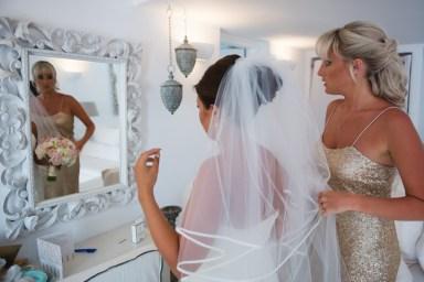 ellwed BenWyattPhotography-33 Blush and Gold Luxury Chic Santorini Wedding