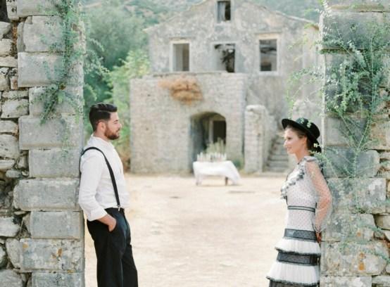 "ellwed Karina_Papadopulos_for_Ellwed_001 The ""Renaissance of Love"" Fine Art Editorial Shoot from Corfu"