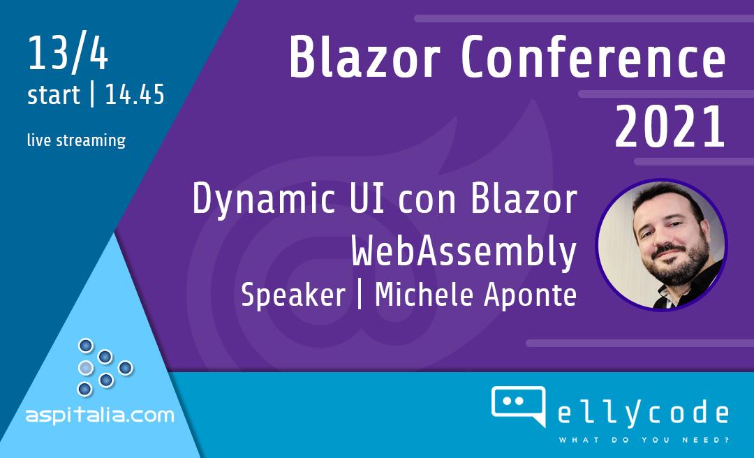 Il nostro CTO alla Blazor Conference 2021