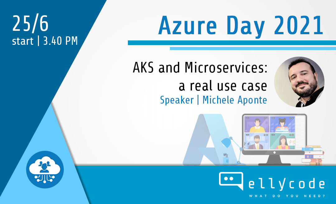 Elly at the Azure Day 2021