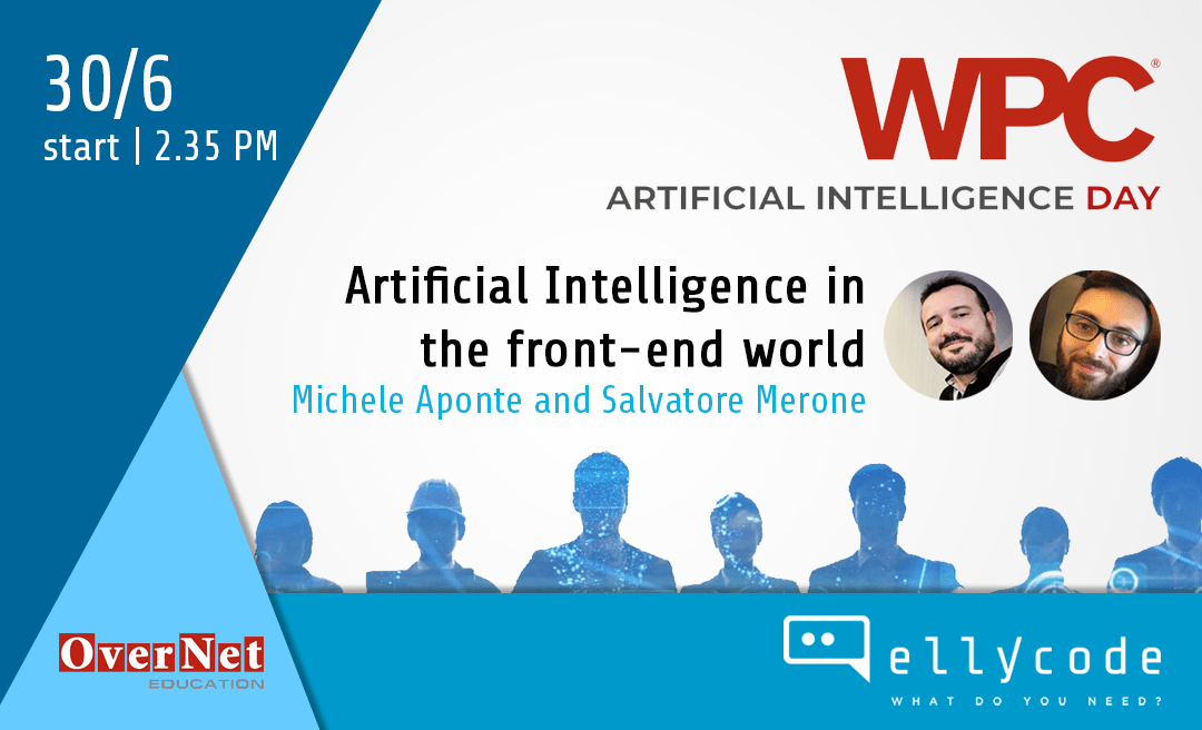 AI and UX at WPC Artificial Intelligence Day