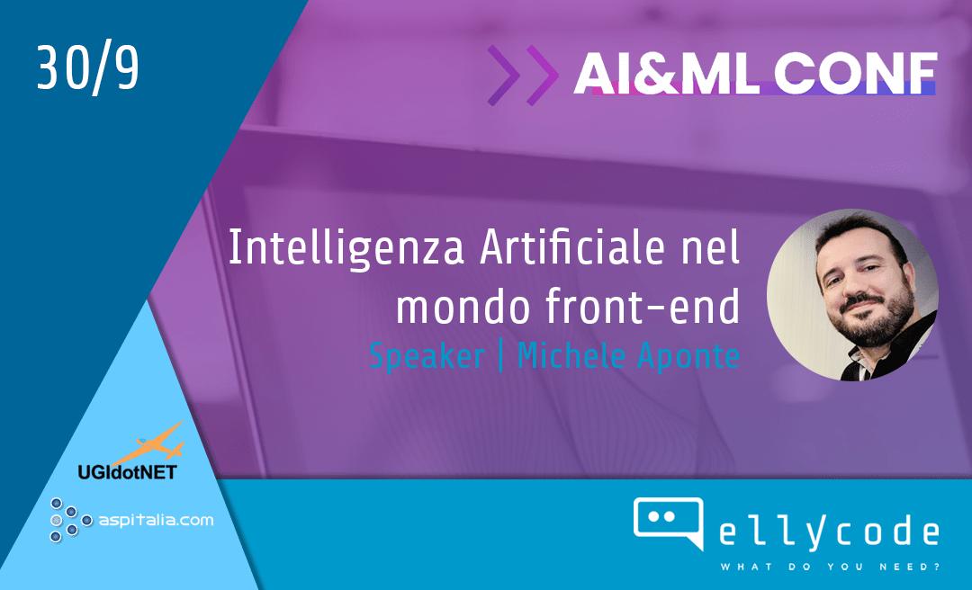IA e UX all'AI&ML Conf