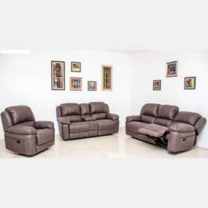 Jedi Recliner Sofa - Bronze 6 seater