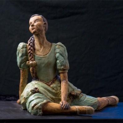 Keramik skulptur - Elly Pedersen Keramik