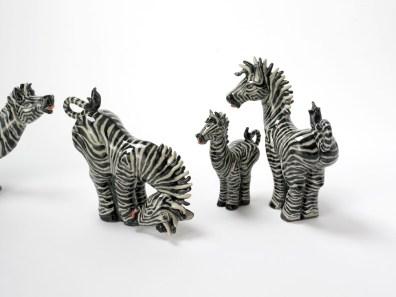 Ellys zebraer - Elly Pedersen keramik