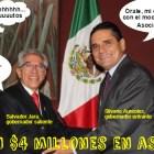 Salvador Jara y Silvano Aureoles pagar $4 millones por proceso público