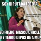 Diputada Erika Araceli Rodríguez Hernández al grito de fuero