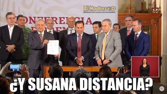 ¿Y Susana Distancia?