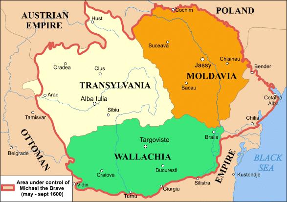 رومانيا في العصور الوسطى