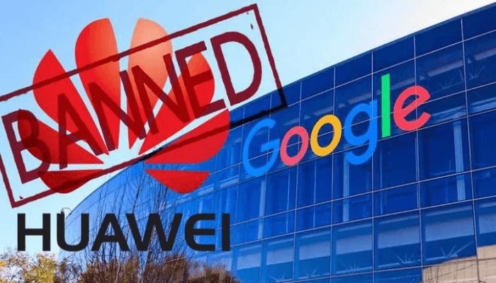 شركة هواوي و جوجل