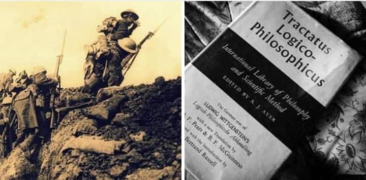 """فتغنشتاين تأثير الحرب على أفكار """"الرسالة"""""""
