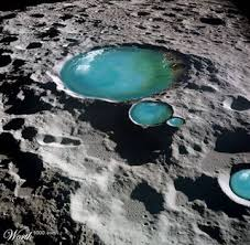 مياه على القمر