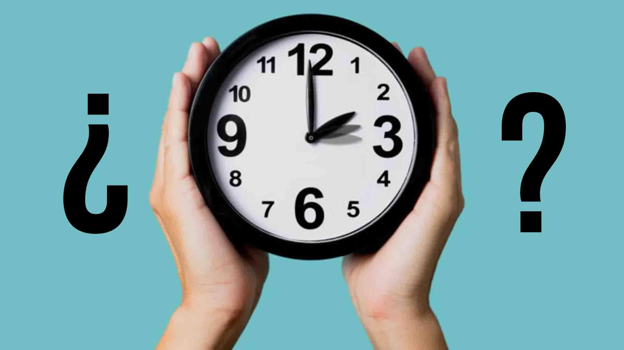 Que Hora Es Adelanta Tu Reloj Al Horario De Verano